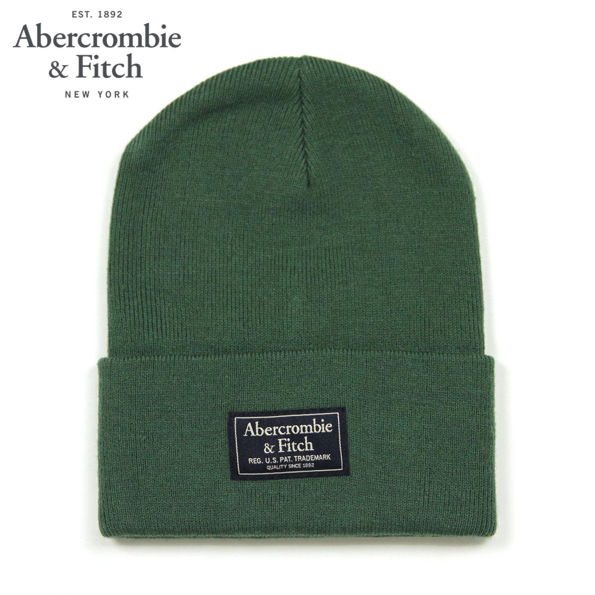 cda6486711210 ABBA black Abercrombie   Fitch regular article men gap Dis hat beanie knit hat  LOGO TURN UP BEANIE 112-200-0276-300