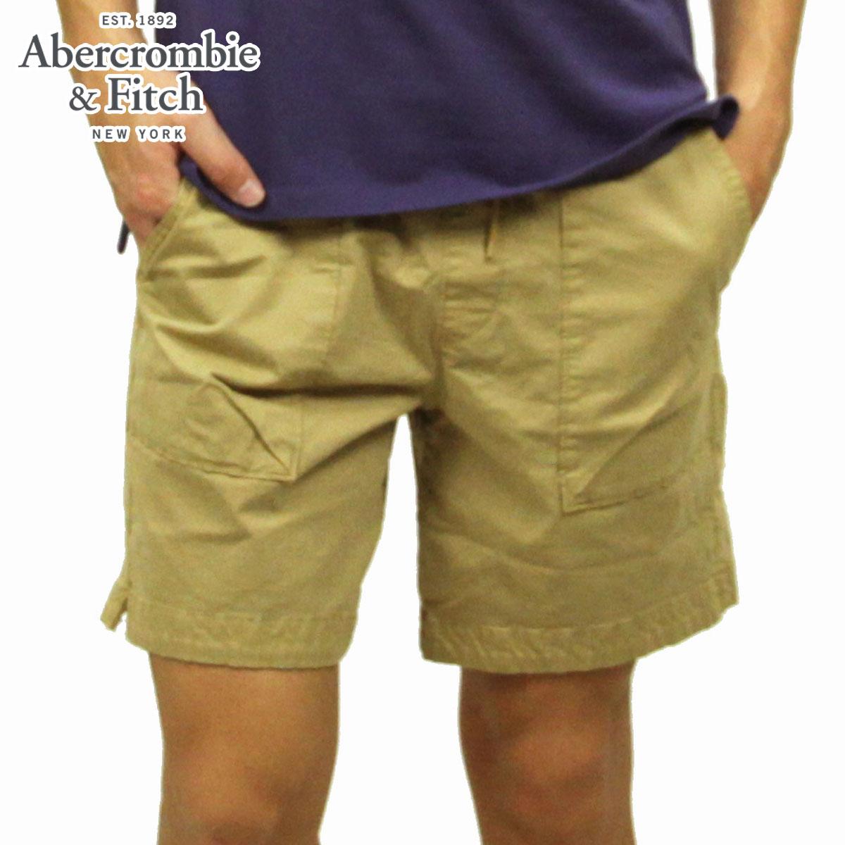 アバクロ ショートパンツ メンズ 正規品 Abercrombie&Fitch ボトムス ハーフパンツ PULL-ON SHORTS 128-283-0865-475