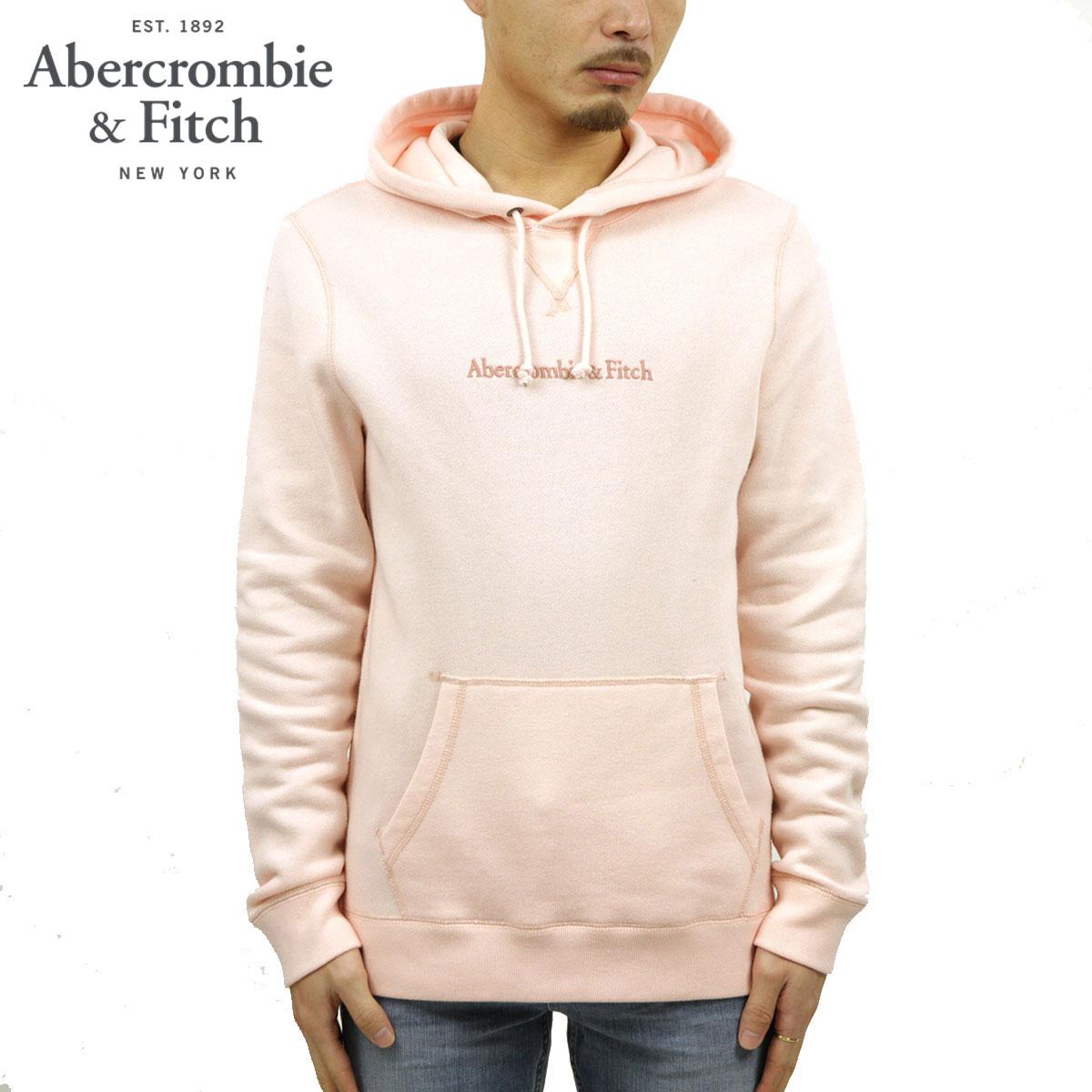 アバクロ パーカー メンズ 正規品 Abercrombie&Fitch プルオーバーパーカー ロゴ EMBROIDERED LOGO HOODIE 122-231-0830-600