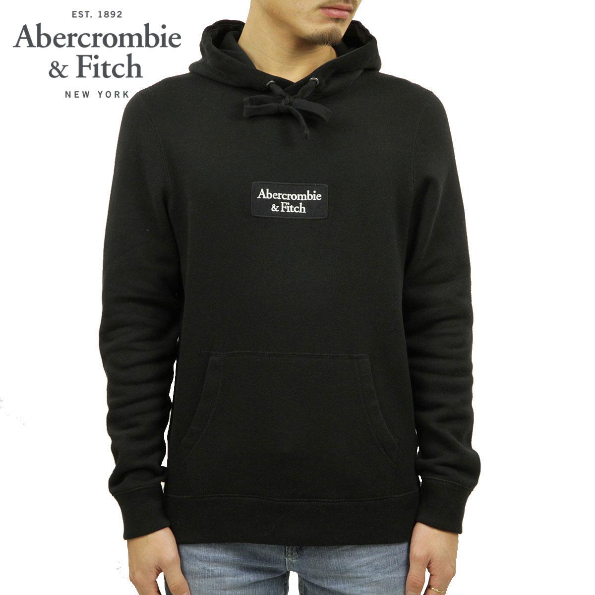 アバクロ パーカー メンズ 正規品 Abercrombie&Fitch プルオーバーパーカー ロゴ LOGO TAPE HOODIE 122-231-0858-900