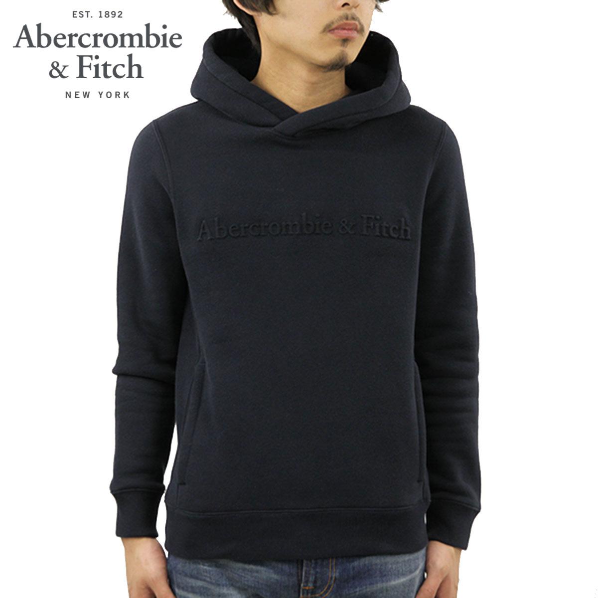 アバクロ パーカー メンズ 正規品 Abercrombie&Fitch プルオーバーパーカー ロゴ THE A&F LOGO PERFECT POPOVER HOODIE 122-231-0895-200