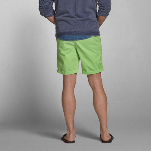 艾伯克龙比和惠誉艾伯克龙比 & 惠誉 AE 男士短裤 A & F 预科生适合短裤 128-283-0342年-031 P19May15