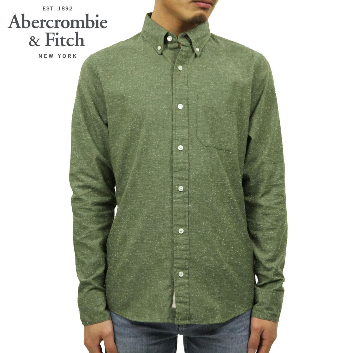 アバクロ Abercrombie&Fitch 正規品 メンズ 長袖シャツ TEXTURED SHIRT 125-168-2156-333 D00S20