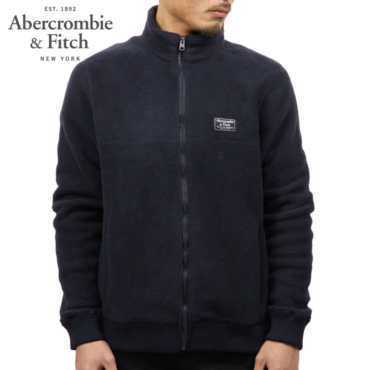 アバクロ Abercrombie&Fitch 正規品 メンズ アウタージャケット TRAIL FLEECE FULL-ZIP MOCK NECK JACKET 122-232-0712-200 D00S20