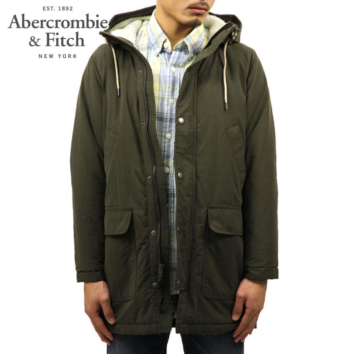 アバクロ Abercrombie&Fitch 正規品 メンズ アウター ロングコート SHERPA COTTON PARKA JACKET 132-328-1019-330