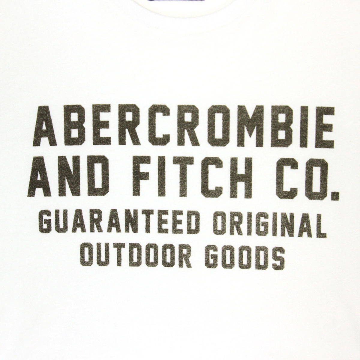 a3013802 ... ABBA black Abercrombie & Fitch regular article men short sleeves T-shirt  PRINTED LOGO ...