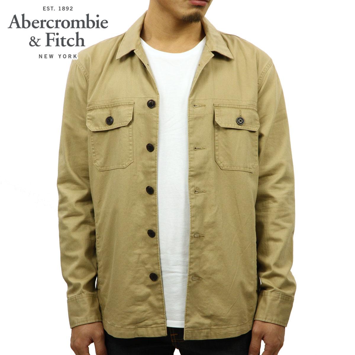 アバクロ Abercrombie&Fitch 正規品 メンズ アウター シャツジャケット MILITARY SHIRT JACKET 125-168-2951-400
