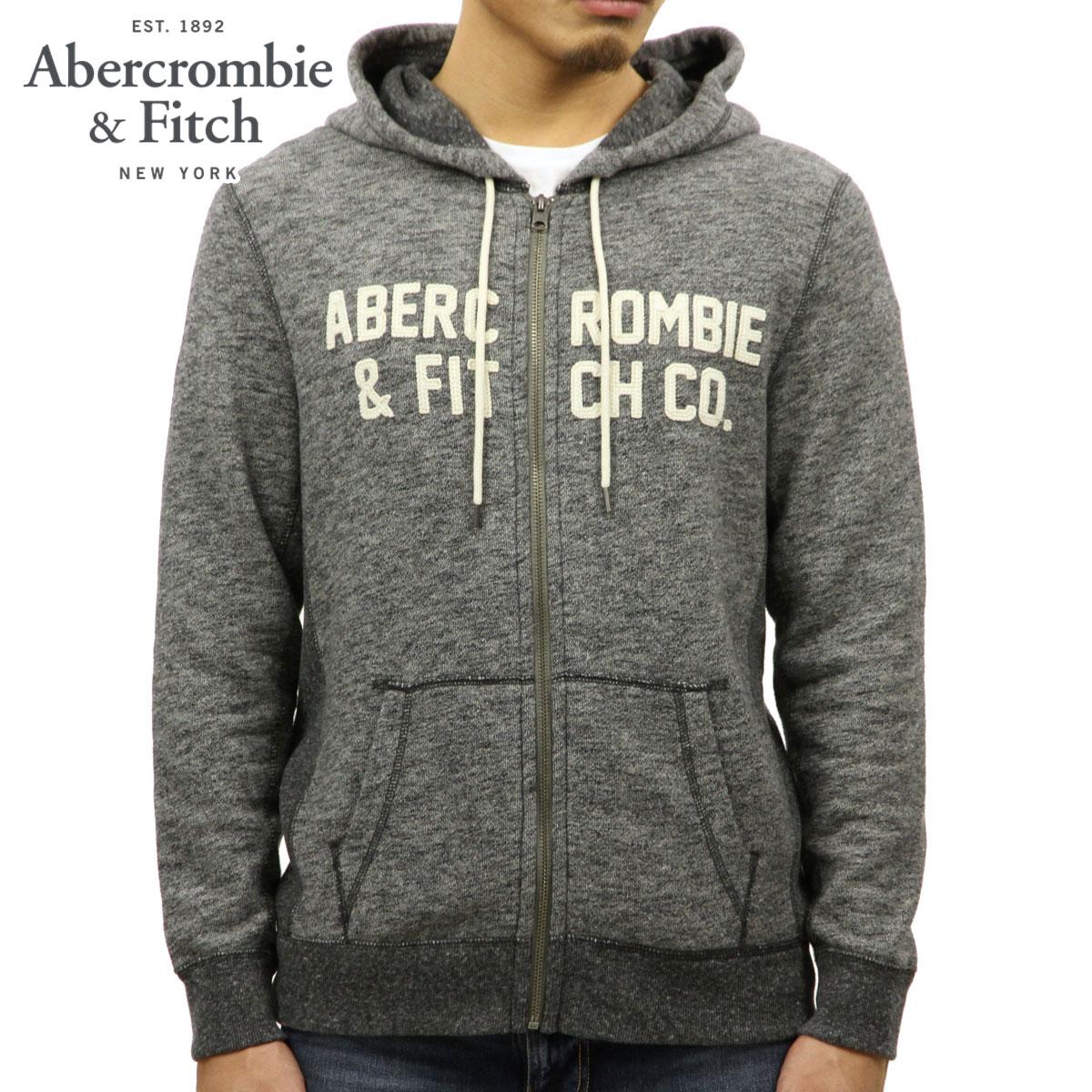 アバクロ Abercrombie&Fitch 正規品 メンズ ジップアップパーカー GRAPHIC FULL-ZIP HOODIE 122-232-0768-122