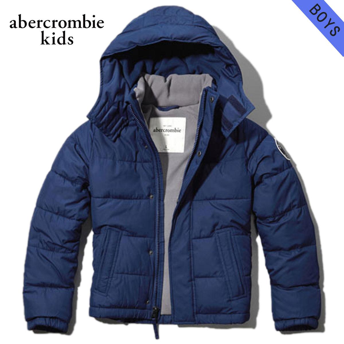 【販売期間 1/8 14:00~1/17 09:59】 アバクロキッズ AbercrombieKids 正規品 子供服 ボーイズ アウタージャケット classic puffer jacket 232-716-0111-026 D20S30