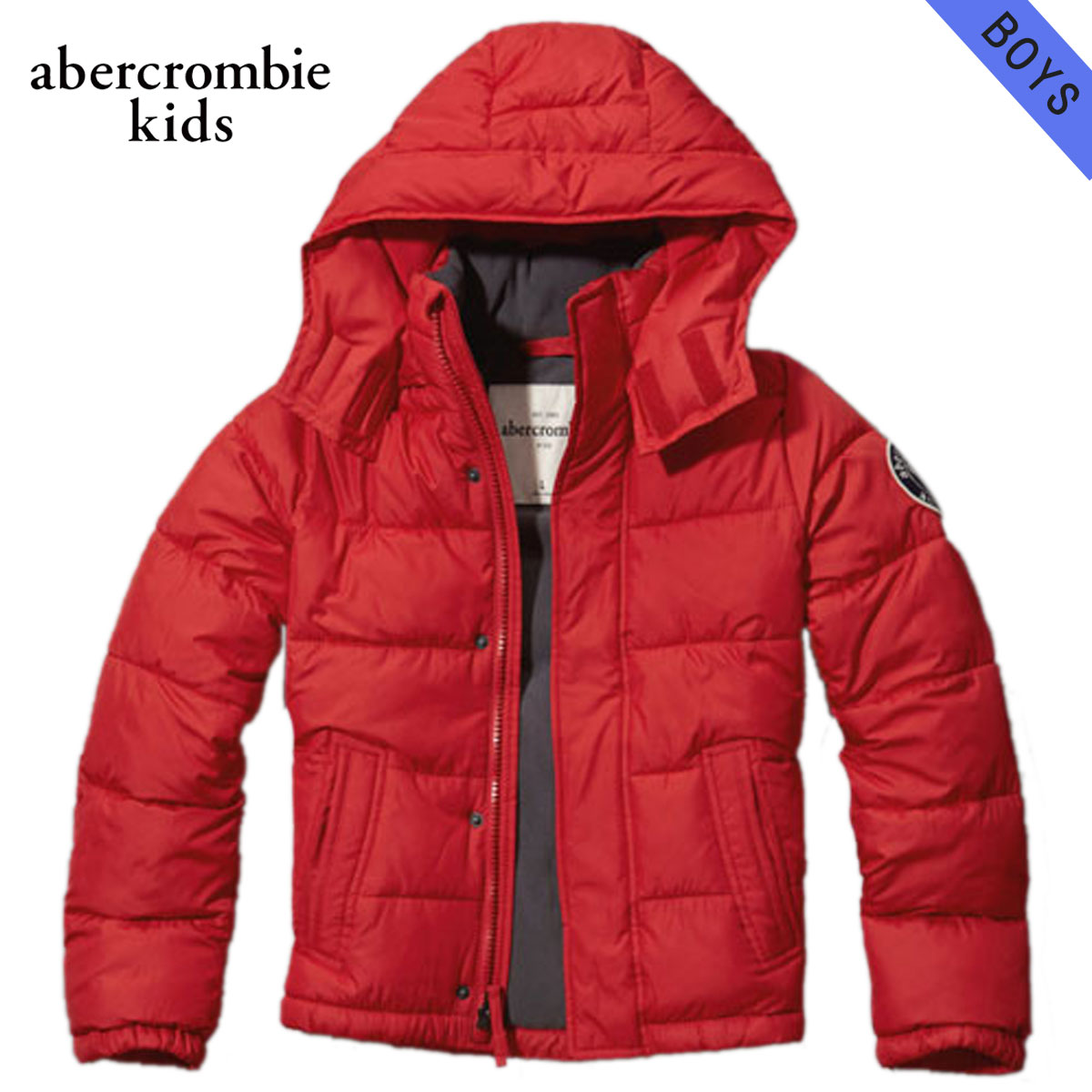 20%OFFセール 【販売期間 11/3 20:00~11/12 9:59】 アバクロキッズ AbercrombieKids 正規品 子供服 ボーイズ アウタージャケット classic puffer jacket 232-716-0112-050 D00S20