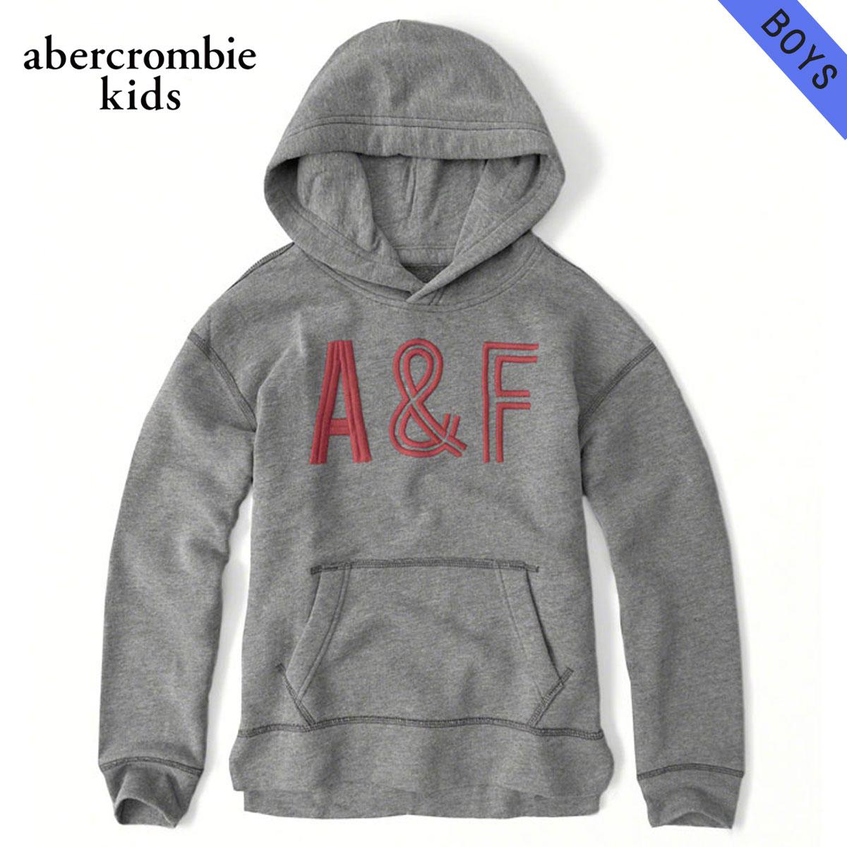 アバクロキッズ パーカー ボーイズ 子供服 正規品 AbercrombieKids logo pullover hoodie 222-628-0015-013