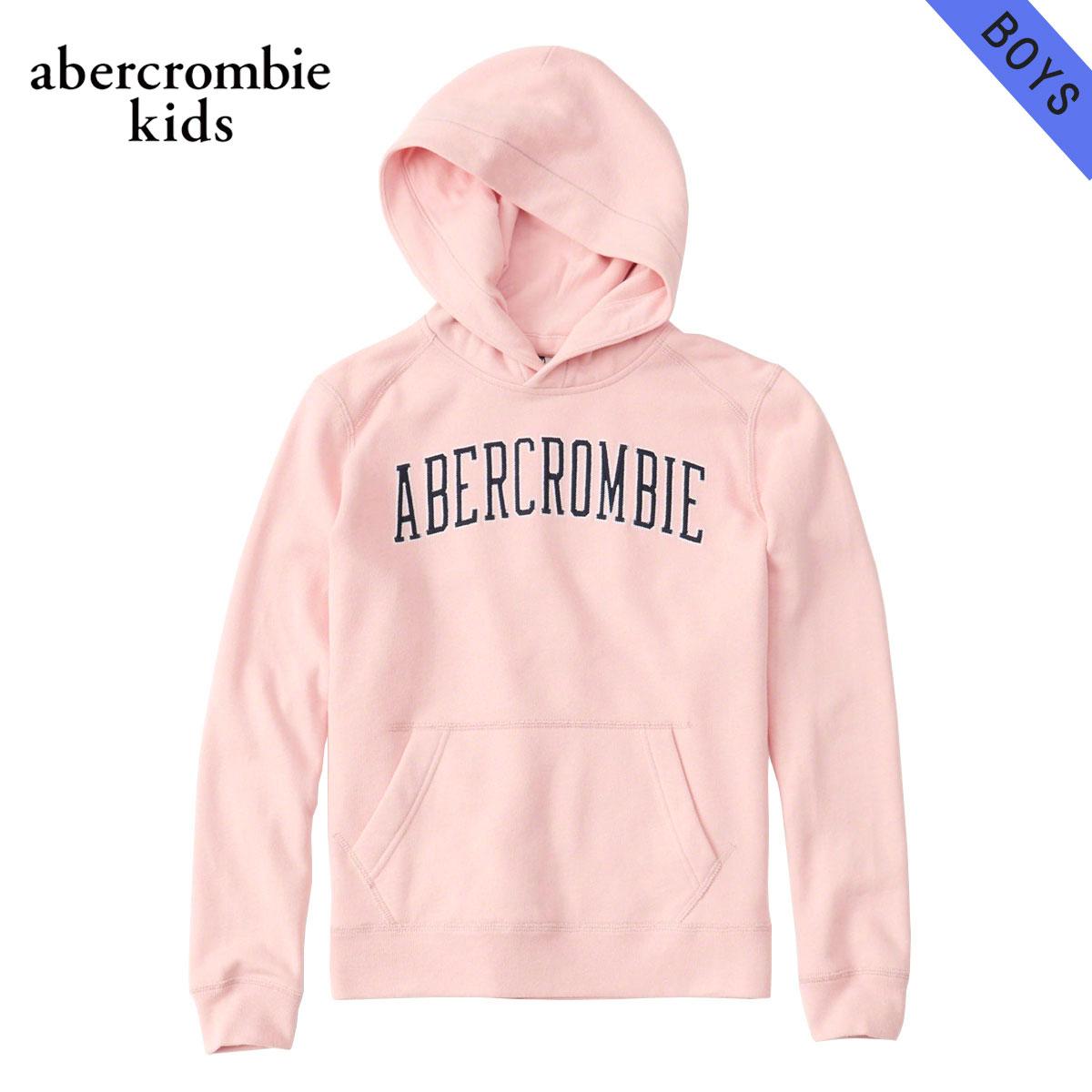 アバクロキッズ パーカー ボーイズ 子供服 正規品 AbercrombieKids プルオーバーパーカー ロゴ embroidered logo hoodie 222-8401-0248-060