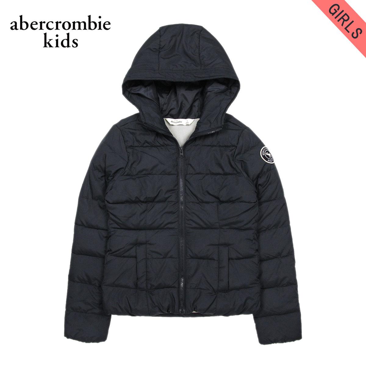 アバクロキッズ AbercrombieKids 正規品 子供服 ガールズ アウタージャケット fleece lined puffer jacket 244-856-0113-023 D20S30