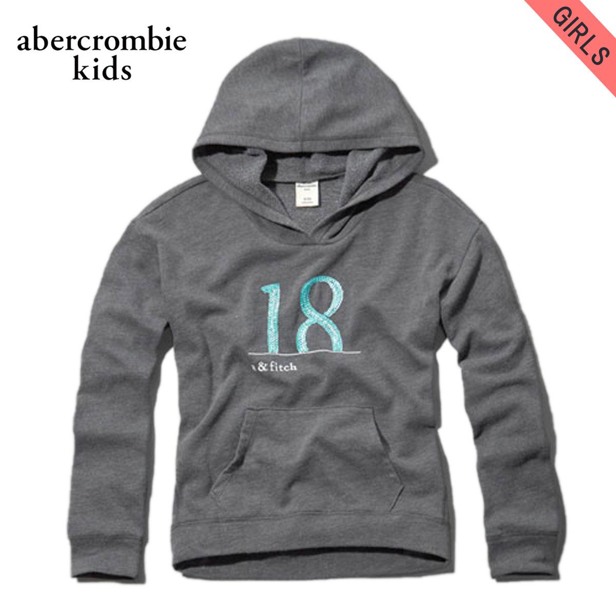 アバクロキッズ パーカー ガールズ 子供服 正規品 AbercrombieKids logo graphic hoodie 252-771-0287-013