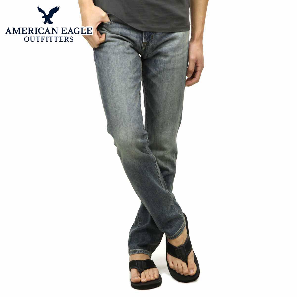 30%OFF sale American eagle jeans men's regular article AMERICAN EAGLE jeans  Skinny Jean 0119-2884 MEDIUM CONT