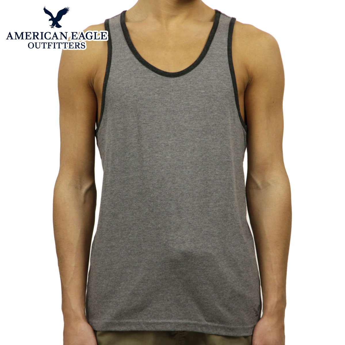 f077d7a1a563ee American eagle AMERICAN EAGLE regular article men tank top AEO FACTORY  HERITAGE RINGER TANK 1518-6071 D00S20