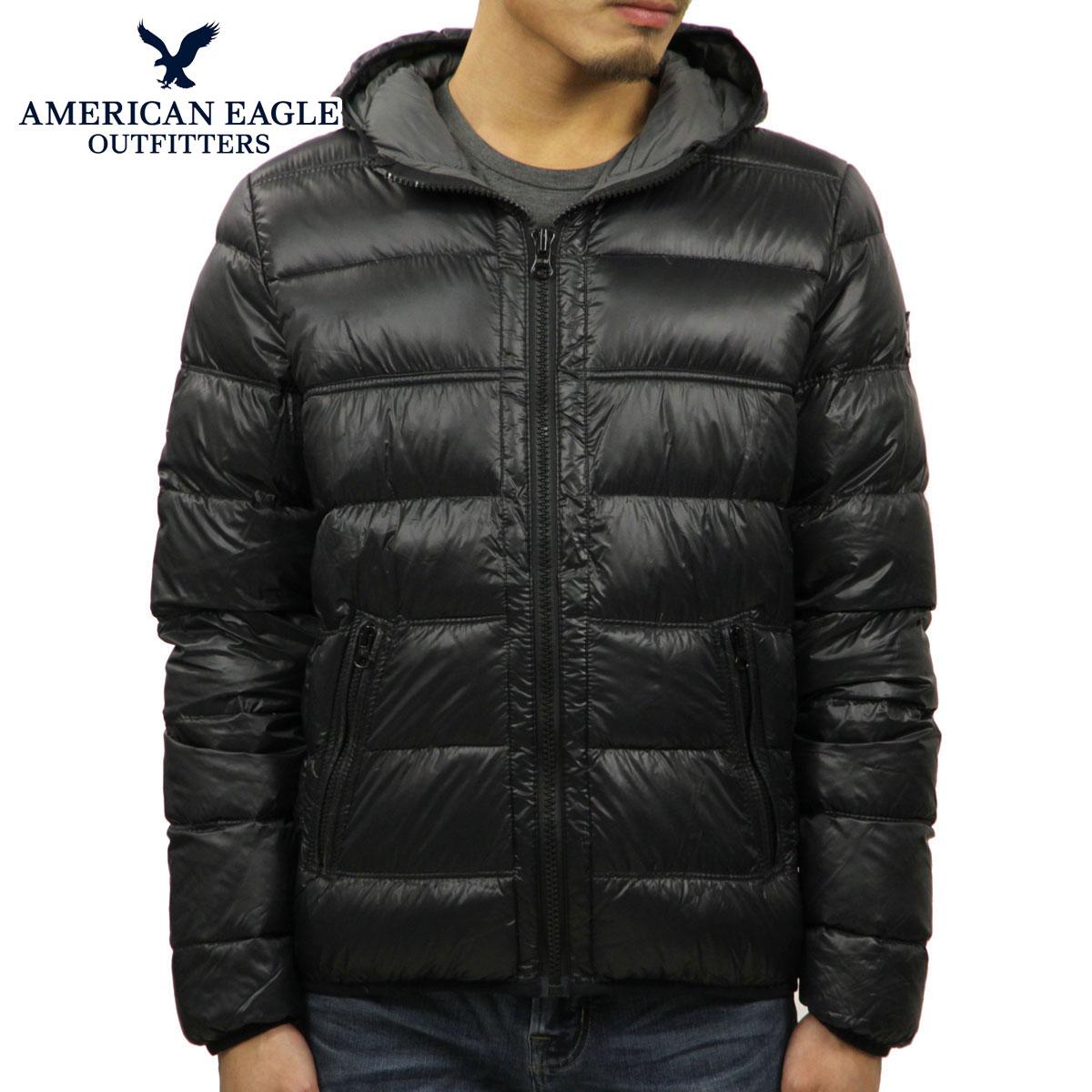 アメリカンイーグル AMERICAN EAGLE 正規品 メンズ ダウンジャケット AEO Get Down Hooded Puffer Jacket 0104-9549 D20S30