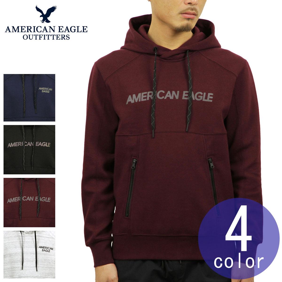 975766b1d American eagle AMERICAN EAGLE regular article men logo graphic pullover  parka AE ACTIVE REFLECTIVE GRAPHIC POPOVER ...