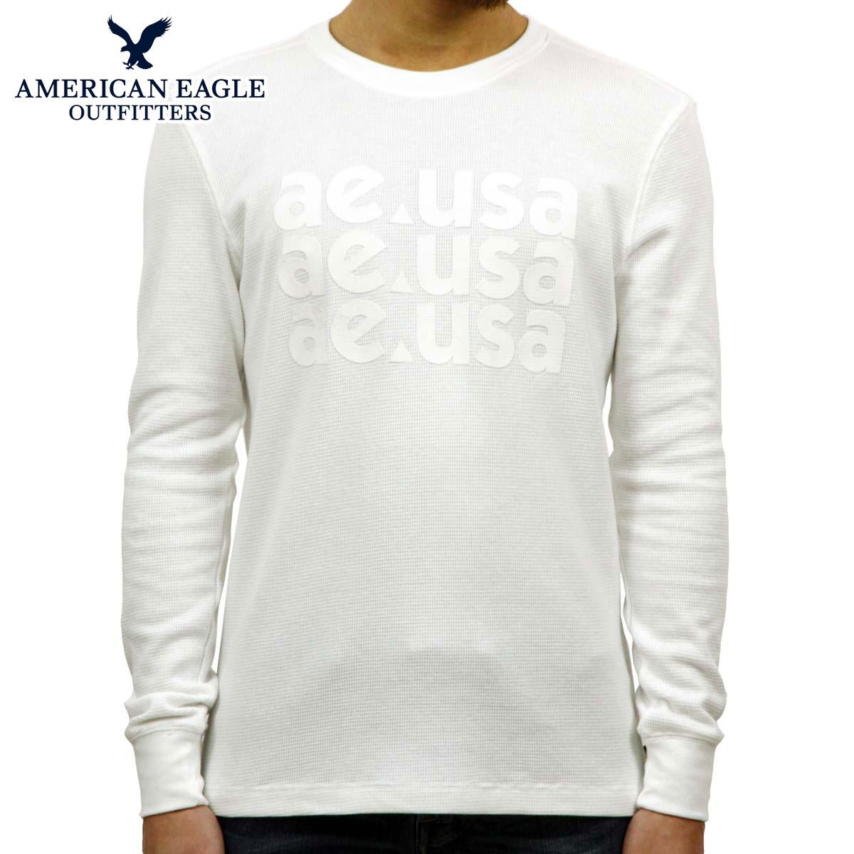 f067002e0 American eagle AMERICAN EAGLE regular article men thermal crew neck long  sleeves T-shirt Ron ...