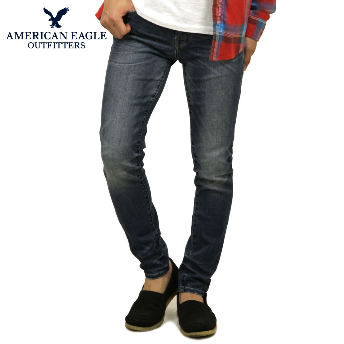 8e2e46d4 American eagle AMERICAN EAGLE regular article men jeans denim underwear AE  EXTREME FLEX SKINNY JEAN 0119 ...