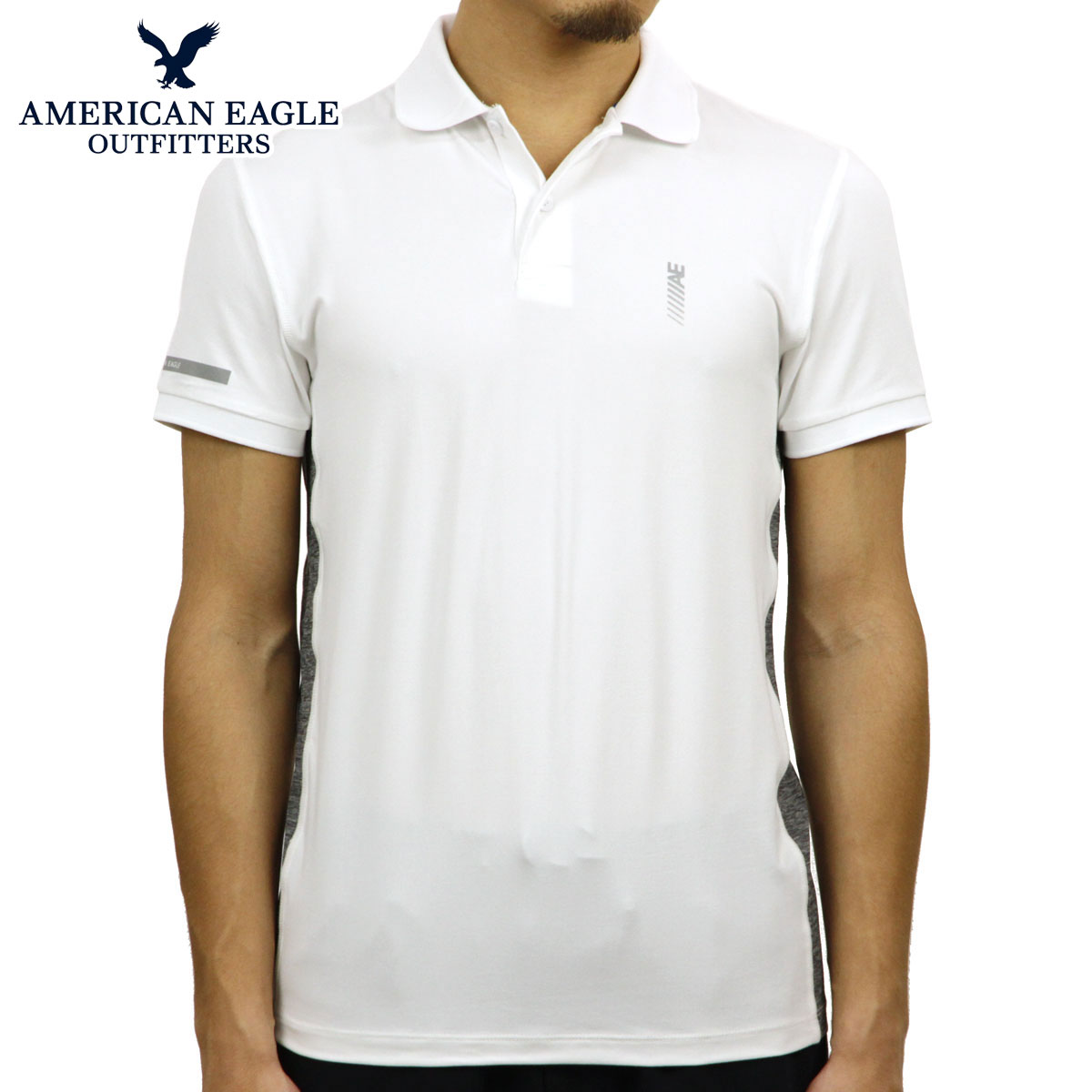 6d2195172b4 American eagle AMERICAN EAGLE regular article men short sleeves polo shirt  AE ACTIVE POLO 1165- ...