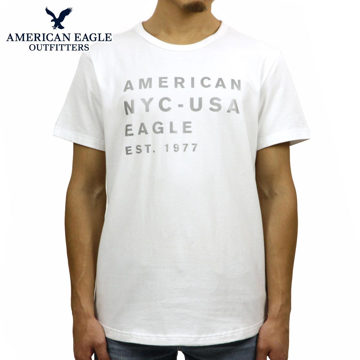 ec8d5bbcc American eagle AMERICAN EAGLE regular article men crew neck short sleeves T-shirt  AE REFLECTIVE ...