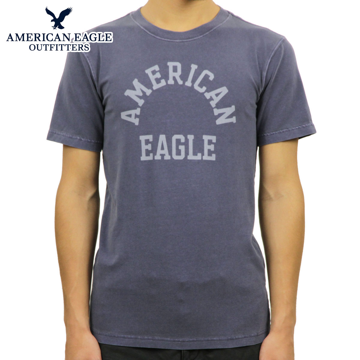 19da82b38 Categories. « All Categories · Men's Clothing · Tops · T-shirts & Tank Tops  · American eagle AMERICAN EAGLE regular article men crew neck short sleeves  ...