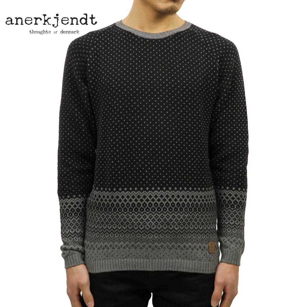 アナケット ANERKJENDT 正規販売店 正規品 メンズ セーター LIBAN KNIT 9515212 Caviar D15S25