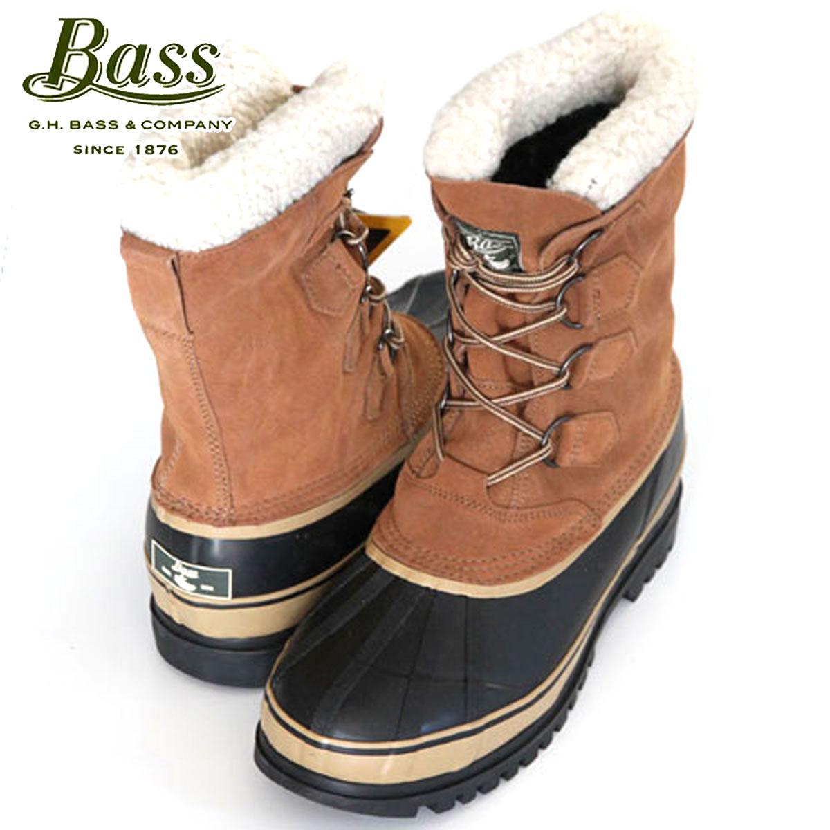 【販売期間 4/2 10:00~4/8 09:59】 バス G.H.BASS 正規品 メンズ ビーンブーツ Bean Boots SUSQUATCH 2105-261 BROWN D25S35