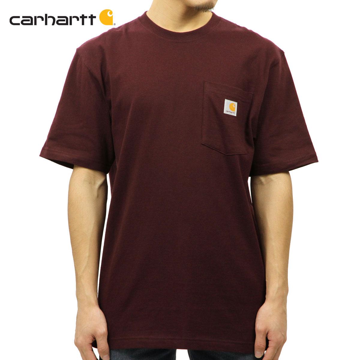 bbfaad0313 Car heart CARHARTT regular article men short sleeves pocket T-shirt  WORKWEAR POCKET SHORT- ...