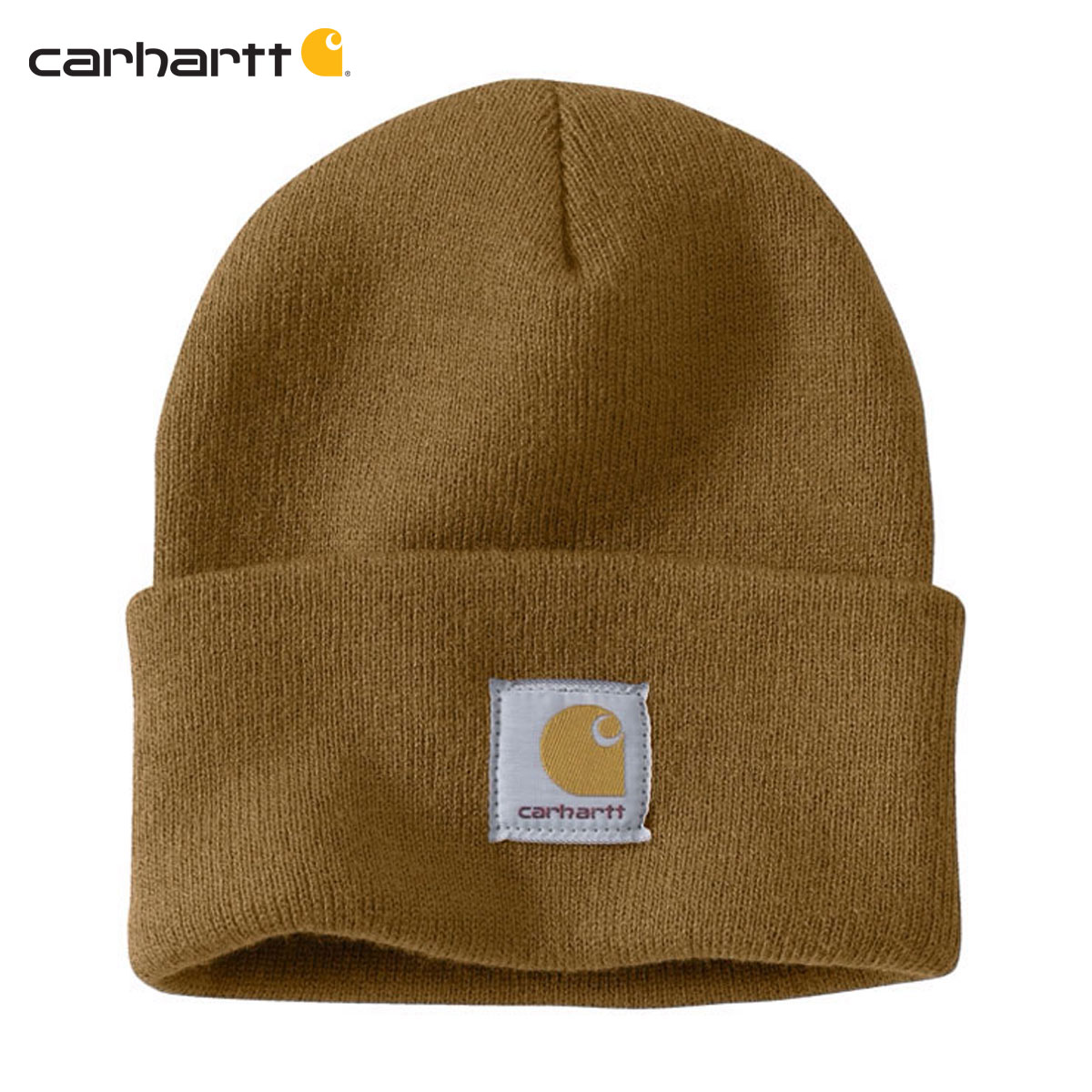 e8f371c886c Rakuten Ichiba shop MIXON  Car heart CARHARTT regular article men knit cap  ACRYLIC WATCH HAT A18 BRN