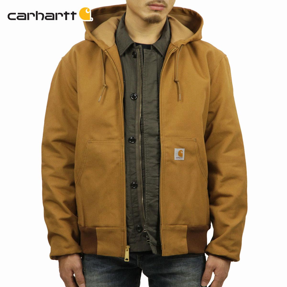 カーハート CARHARTT 正規品 メンズ アウタージャケット THERMAL-LINED DUCK ACTIVE JACKET J131 - BRN CARHARTT BROWN