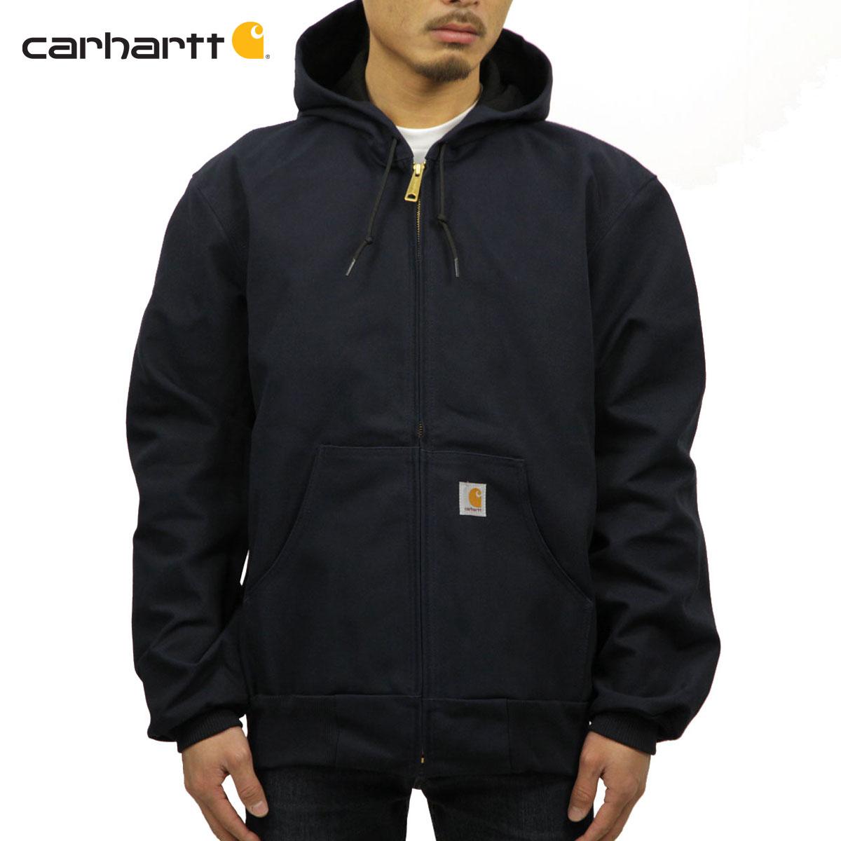 カーハート CARHARTT 正規品 メンズ アウタージャケット THERMAL-LINED DUCK ACTIVE JACKET J131 - DNY DARK NAVY