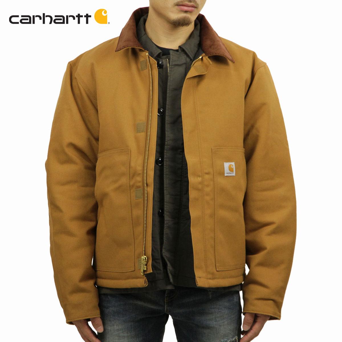 カーハート CARHARTT 正規品 メンズ アウタージャケット DUCK TRADITIONAL JACKET J002 - BRN CARHARTT BROWN