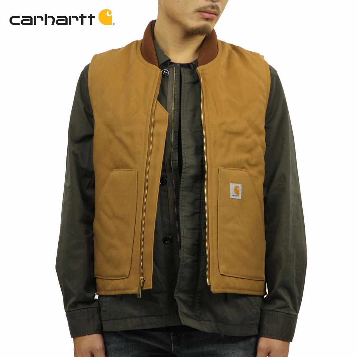 カーハート CARHARTT 正規品 メンズ ベスト DUCK VEST V01 - BRN CARHARTT BROWN