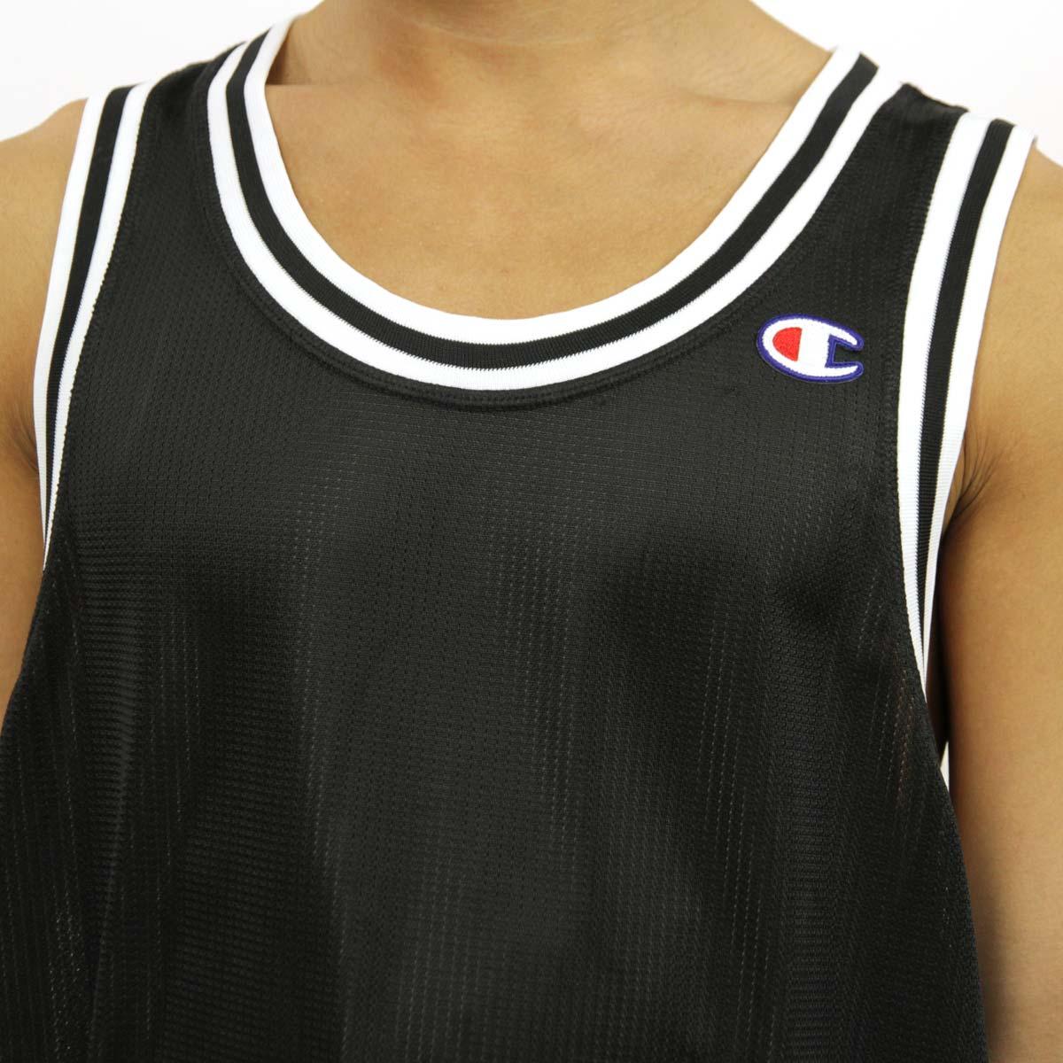 23296395cc7d チャンピオン CHAMPION 正規品 メンズ タンクトップ TANK TOP T8831 City Mesh Jersey 003-BLACK