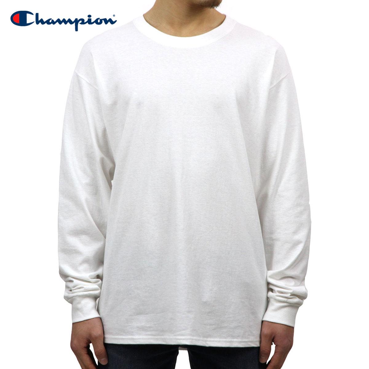 Rakuten Ichiba shop MIXON  Champion CHAMPION Eagle men s long-sleeved T  shirt l s TEE T2229 Cotton Long Sleeve Tee 045-WHITE C logo on left sleeve   590df246da0