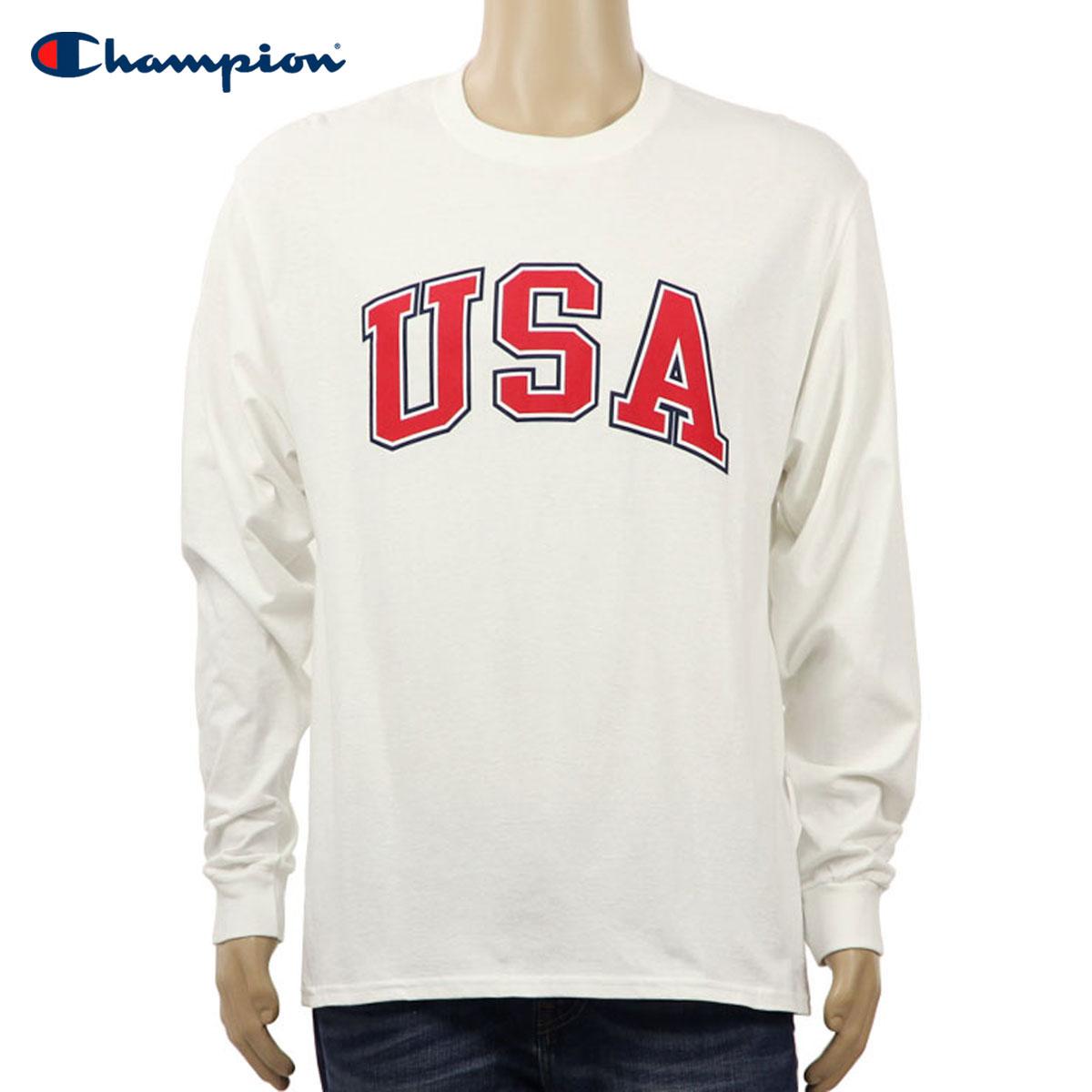 d2c4feb2c Champion CHAMPION regular article men long sleeves T-shirt L/S TEE T2229P  Cotton ...
