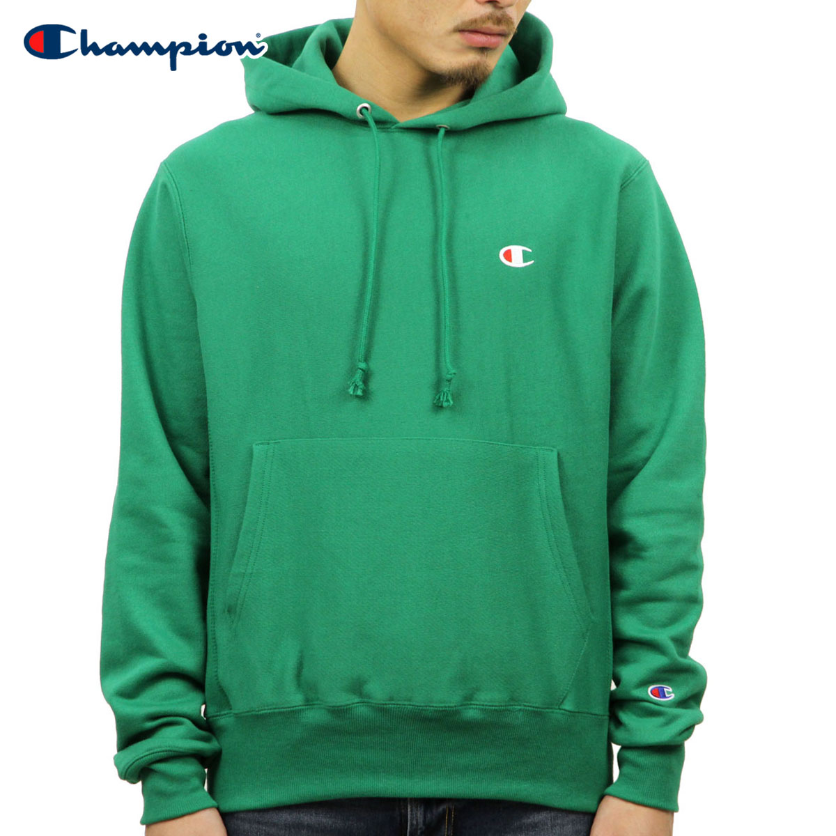 22225140c Champion CHAMPION regular article men goaf Bath Wiebe pullover parka  REVERSE WEAVE HEAVYWEIGHT 12oz PULLOVER HOODIE ...