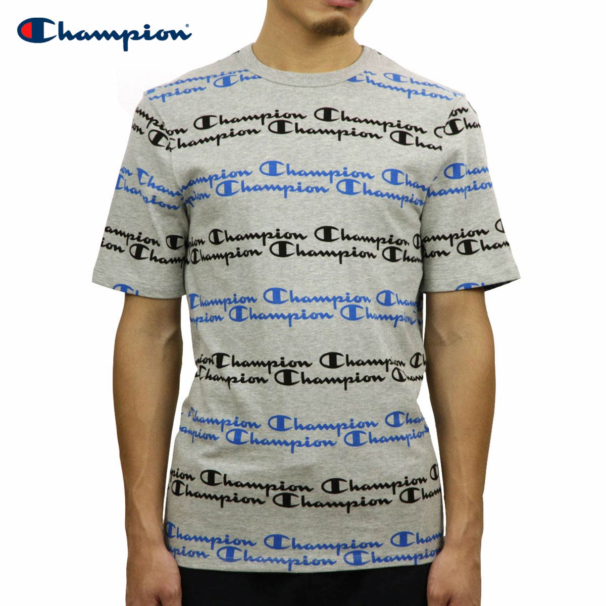 7643d9cd5 Categories. « All Categories · Men's Clothing · Tops · T-shirts & Tank Tops  · Champion CHAMPION regular article men short sleeves T-shirt CREW TEE ...