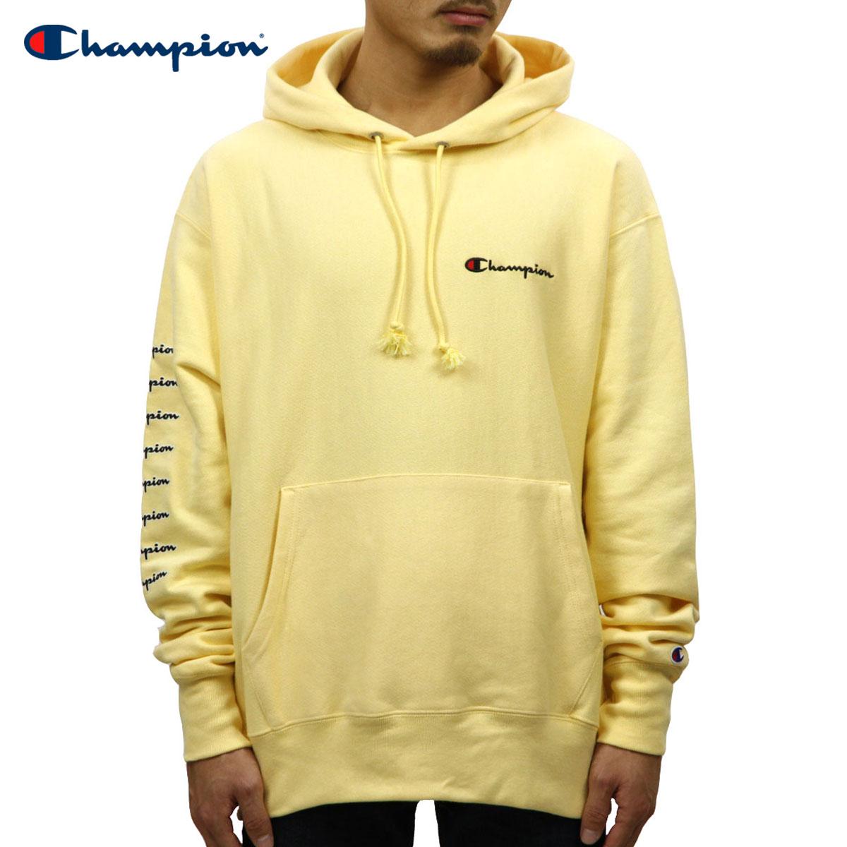 Champion Men/'s Graphic Pullover Hoodie Yellow