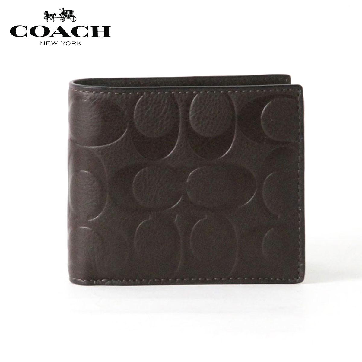 コーチ COACH 正規品 メンズ 財布 WALLET F74992 MAH 父の日