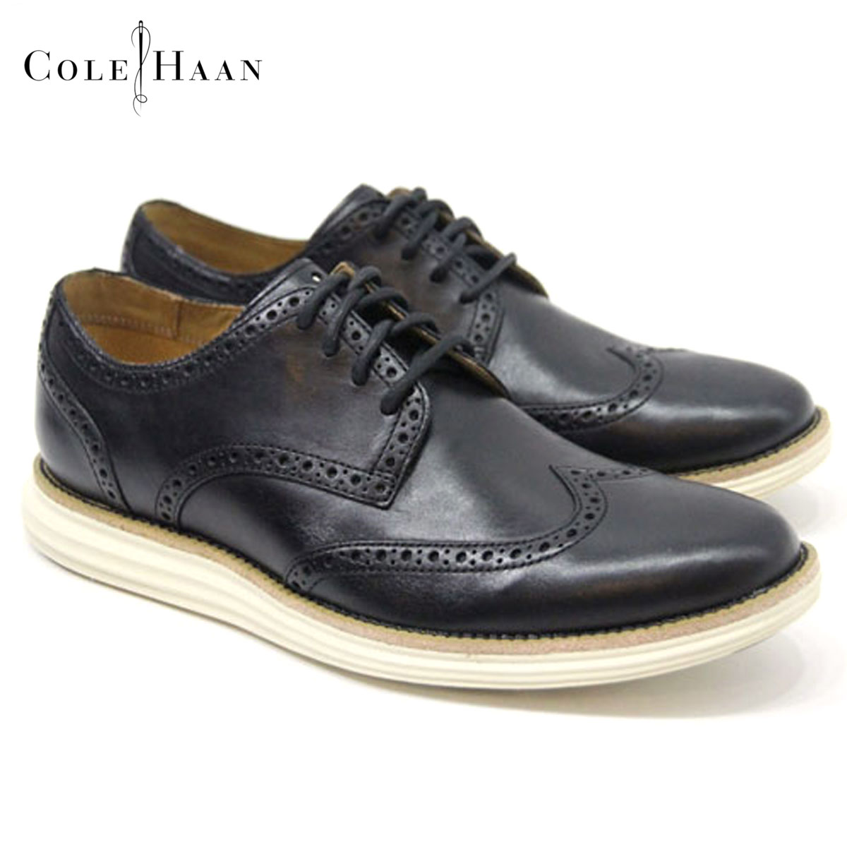 Rakuten Ichiba shop MIXON | Rakuten Global Market: Cole Haan COLE HAAN  genuine dress shoes LUNARGRAND WING. TIP C14110 (BLACK/IVORY)