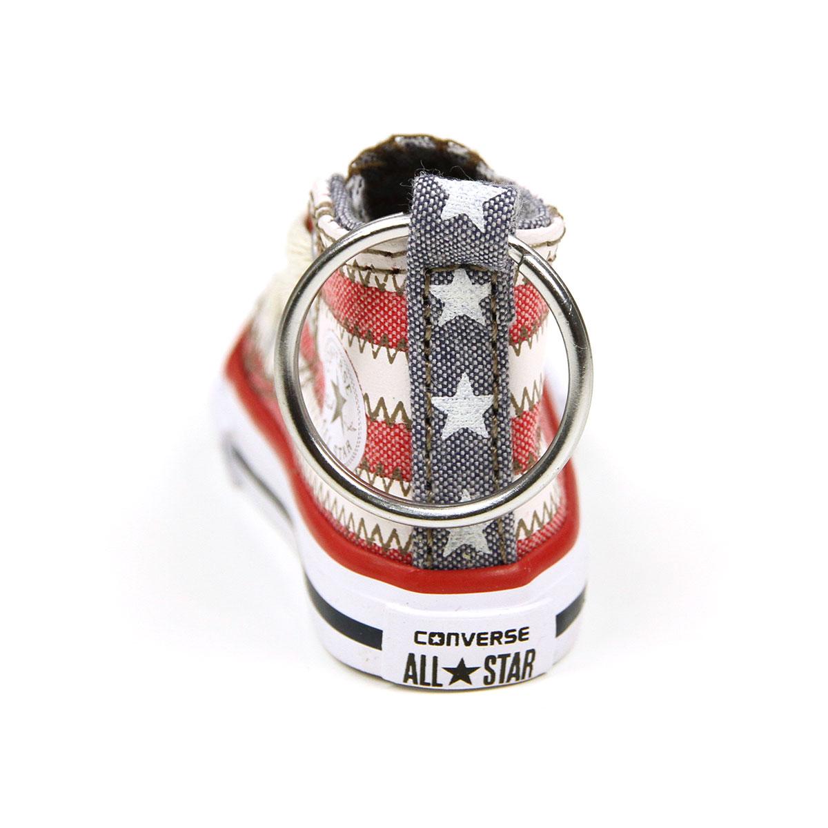 匡威匡威运动鞋钥匙持有人查克 · 泰勒运动鞋钥匙扣所有星级高美国国旗 10P20Nov15