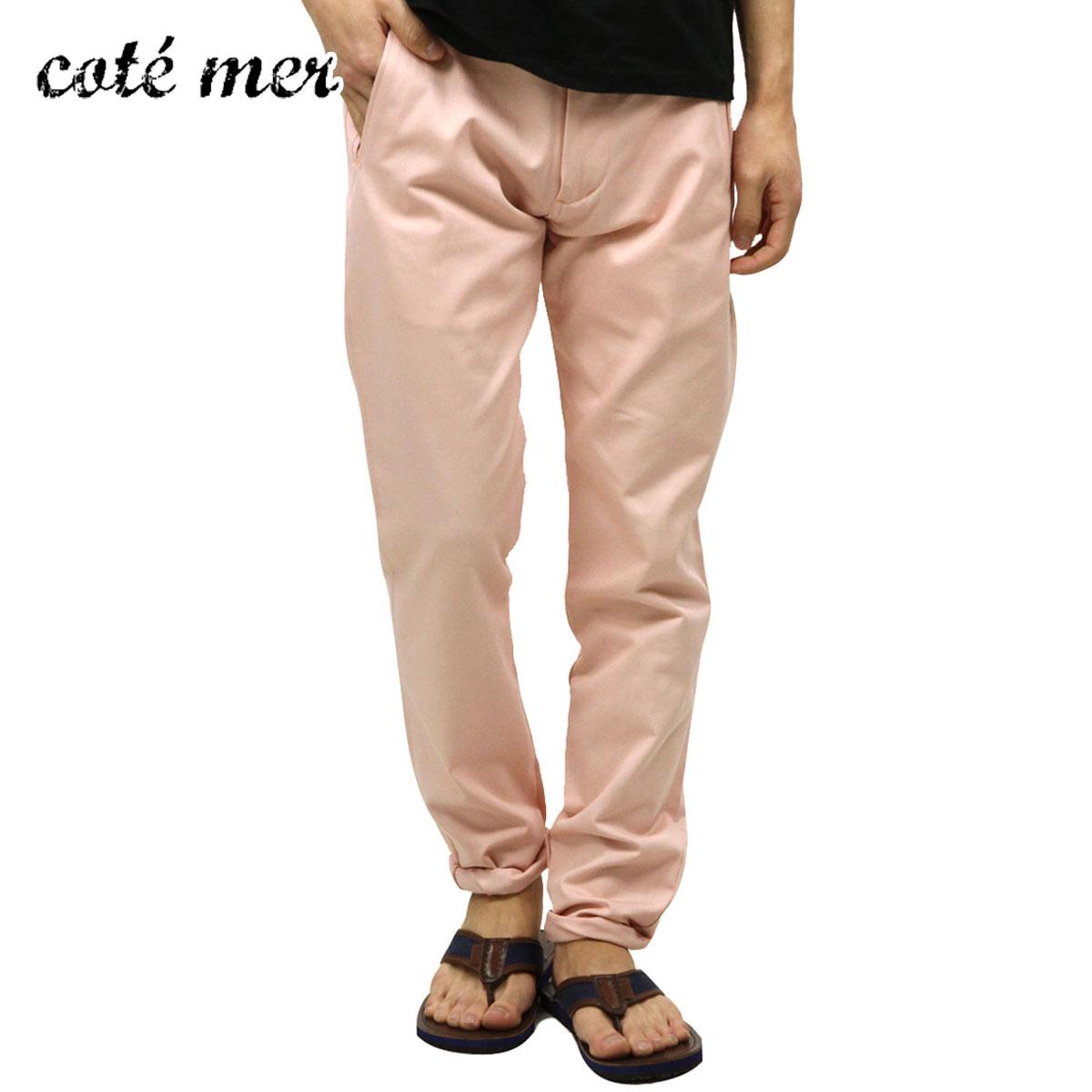 コートメール Cotemer 正規販売店 メンズ スリムチノパン stretch slim fit chino PT-S13-002 PINK