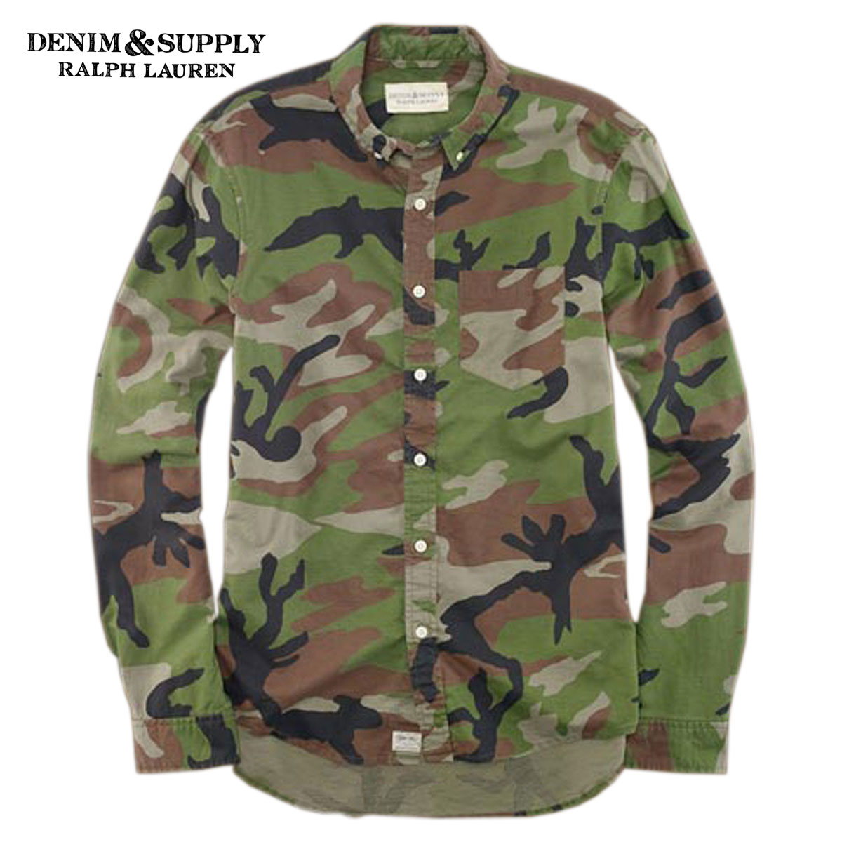 17d42ab8 Rakuten Ichiba shop MIXON: Denim and supply polo Ralph Lauren DENIM &  SUPPLY RALPH LAUREN regular article men long sleeves shirt CAMOUFLAGE SPORT  SHIRT ...