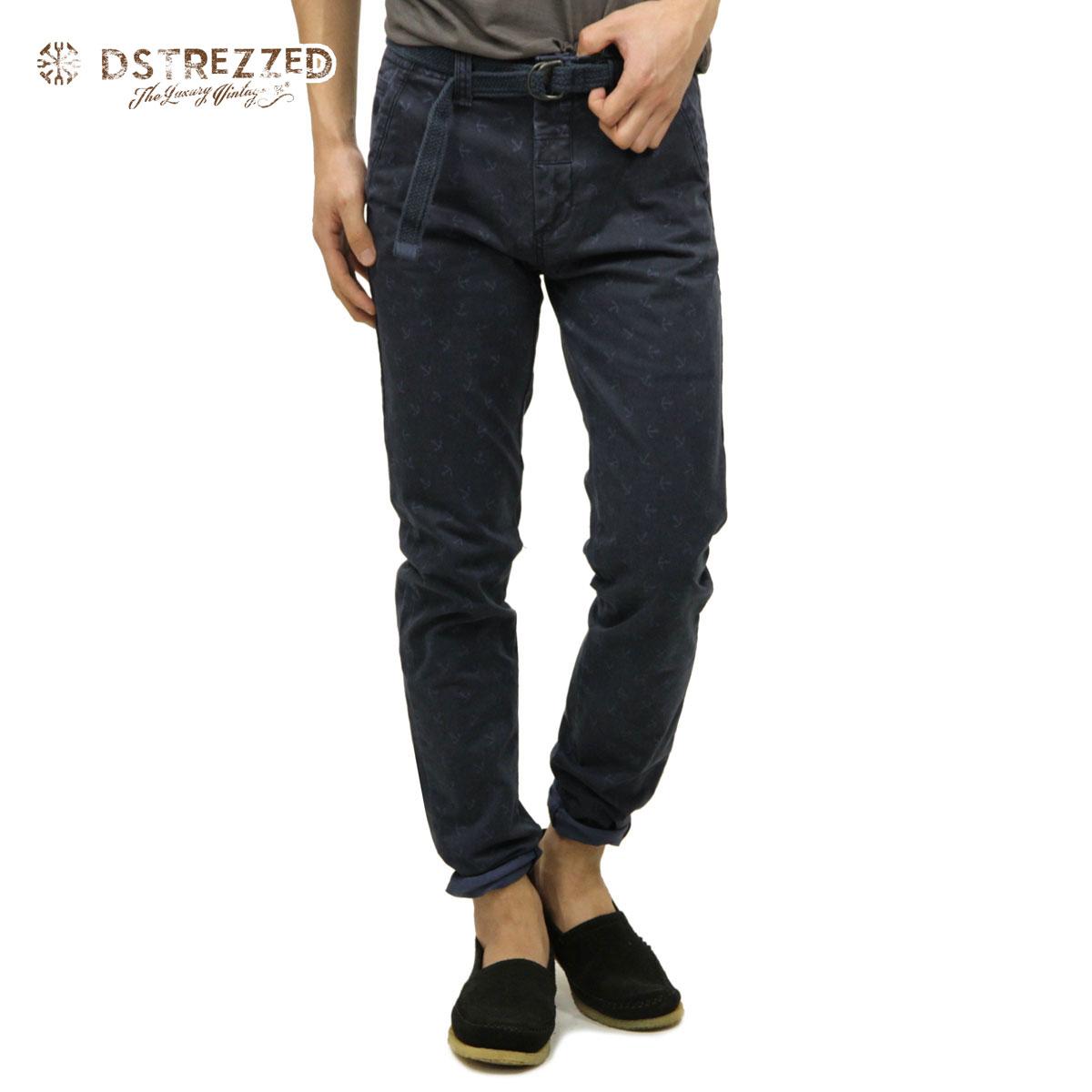ディストレス チノパン メンズ 正規販売店 DSTREZZED ボトムス Chino Pant belt Sprinkle Anchor Str. Tw