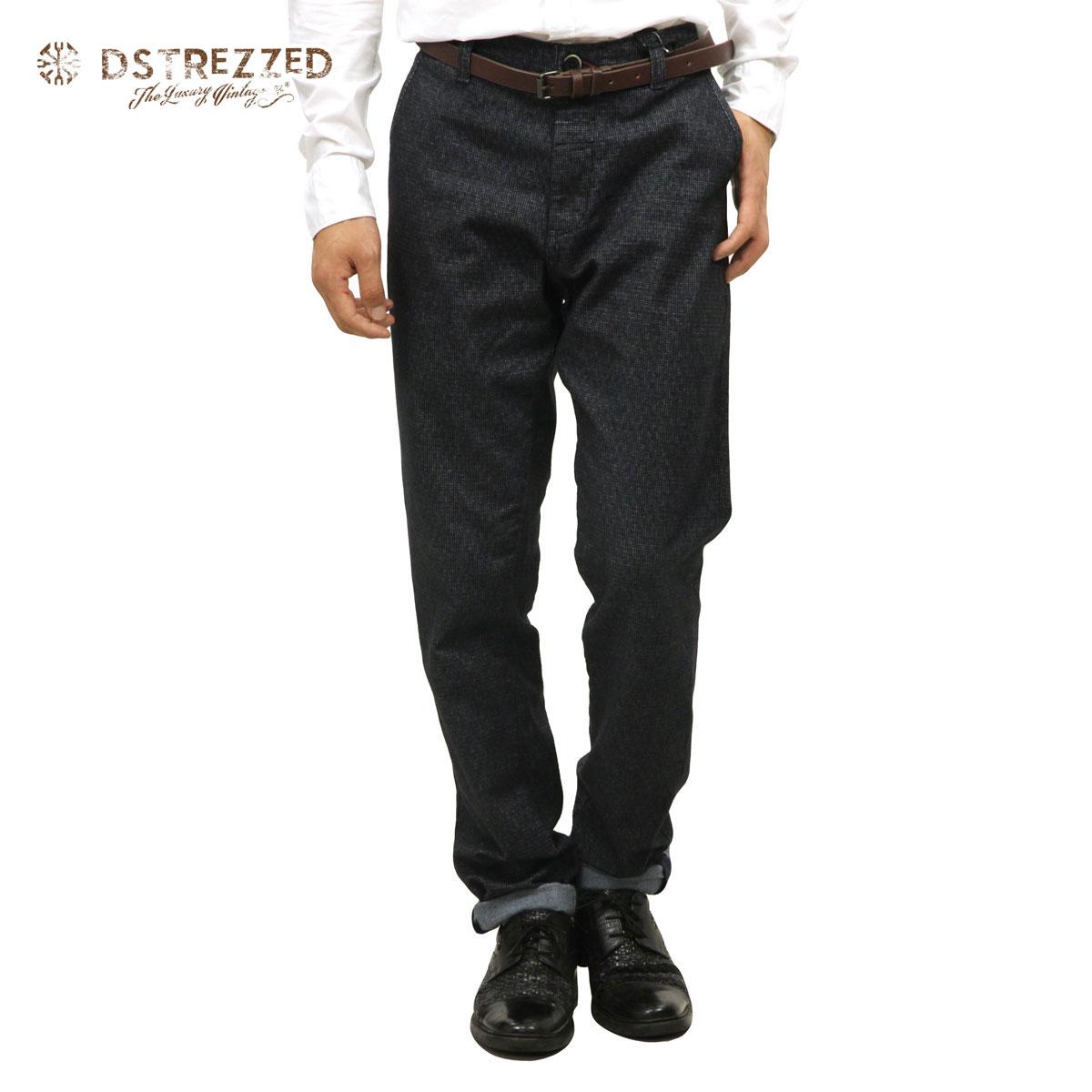 ディストレス DSTREZZED 正規販売店 メンズ チノパン Chino belt Flannel check 501154 49 D00S20