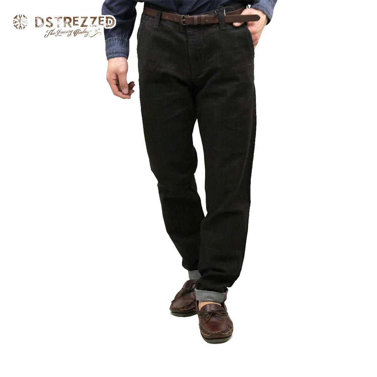 ディストレス DSTREZZED 正規販売店 メンズ チノパン Chino belt Flannel Tartan check 501159 13 D00S20