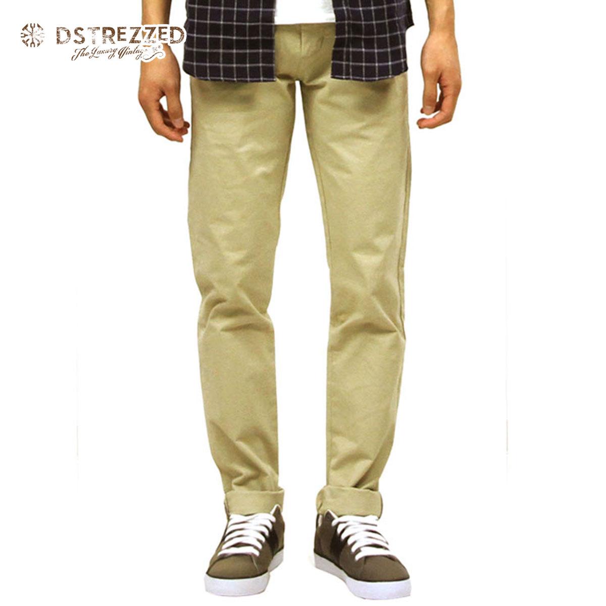 ディストレス DSTREZZED 正規販売店 メンズ チノパン STRETCH TWILL CHINO PANTS WITH BELT SAND CAMO 501146 51 D00S15